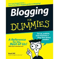 blogginf for dummies